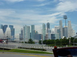 Singapore skyline , saz - May 2012