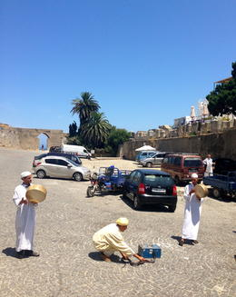 Photo of Malaga 3-Day Morocco Tour from Costa del Sol to Tangier Snake charmers