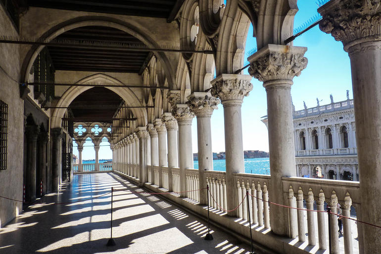 upstairs at the Doge's Palace - Venice