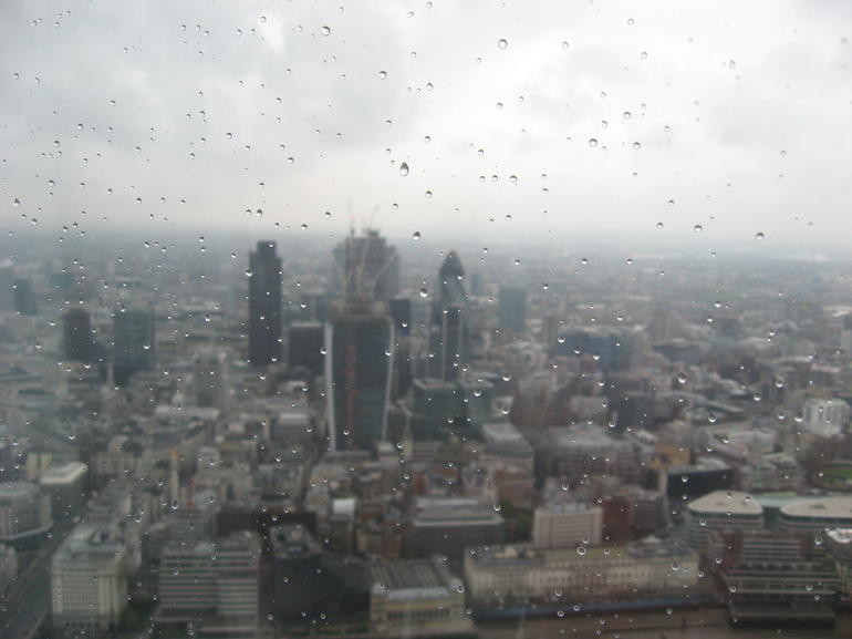 Vue du shard - London