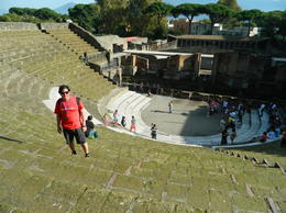 Photo of Rome Naples and Pompeii Day Trip from Rome anfiteatro de Pompeya