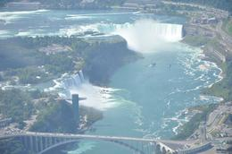 Photo of Niagara Falls & Around Niagara Falls Grand Helicopter Tour Approaching Niagara Falls at 3000ft