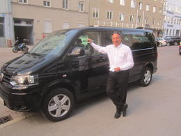 Our tour guide after bringing all six of us back to our Munich hotel. , Robert D. P - July 2013
