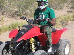 Photo of Las Vegas Hidden Valley and Primm ATV Tour Chucking Up The Duece!