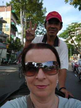 Photo of Ho Chi Minh City Ho Chi Minh Cyclo and Walking Small Group Adventure Tour Cyclo tour