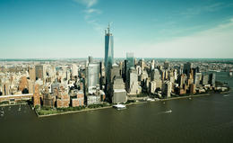 Downtown NYC from helicopter , Pavel S - June 2013