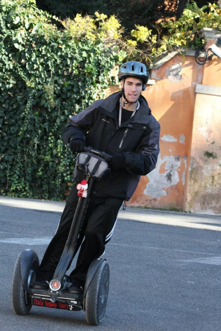 First time on a segway - Rome