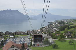 Photo of Zurich Mount Rigi and Lucerne Summer Day Trip from Zurich Going up to Rigi on the Tram