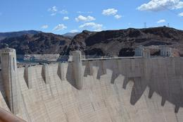 View of the Hoover Dam from the bridge. , Robert H - May 2014