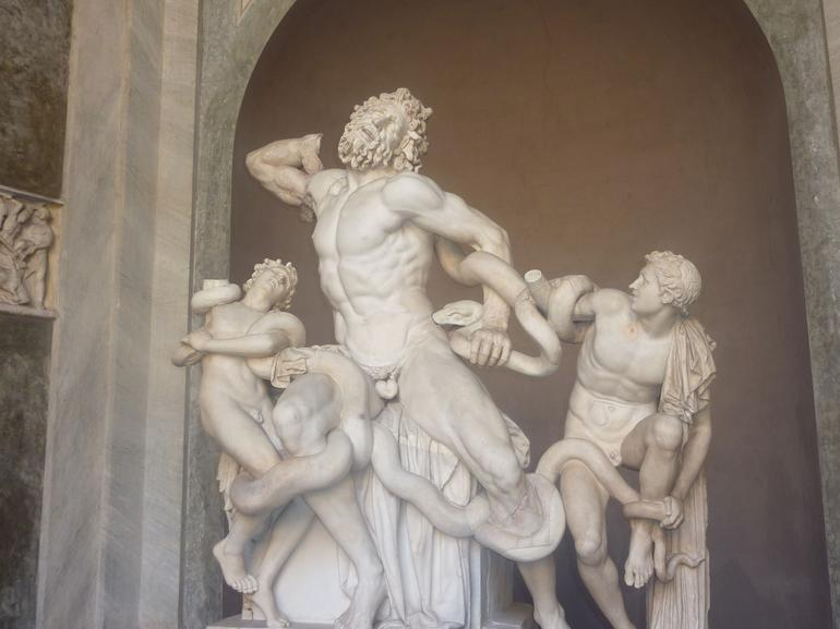 Inside the Vatican Museums - Rome