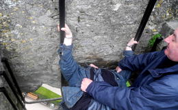Photo of Dublin Blarney Castle and Cork Day Trip from Dublin Kissing The Blarney Stone