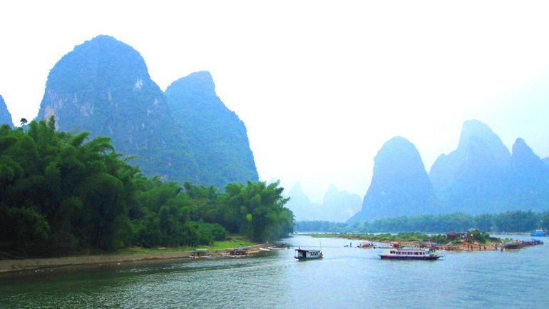 Li River cruise - Guilin