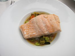 Salmon Entree for early dinner cruise , ROXANNE G - August 2015