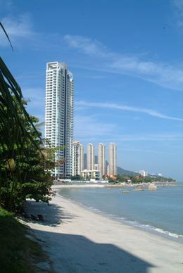 A beach on the northern shores of Penang , Peter T - May 2011