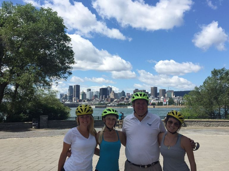 Montreal City Skyline with the A Team for Glanbia Nutritionals in Midwest and Canada!