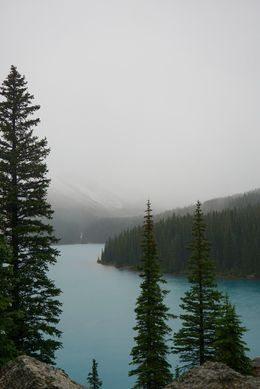 Moraine Lake in the rain , Beijia G - September 2015