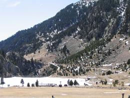 Frozen lake. - April 2008