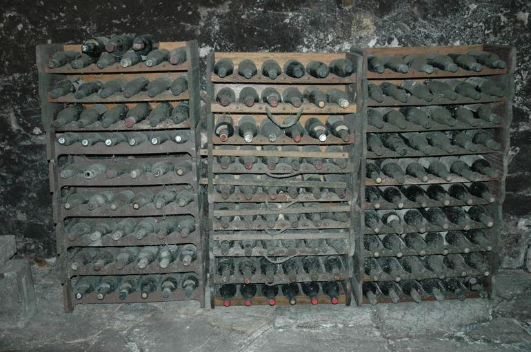 Old wine bottles - Florence