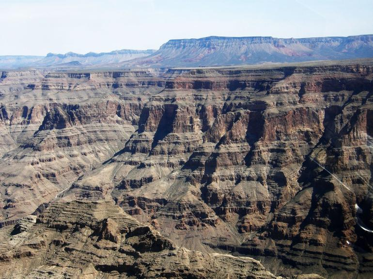 Our First Sight of the Actual Canyon - Las Vegas