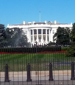 Photo of   Outside of the White House