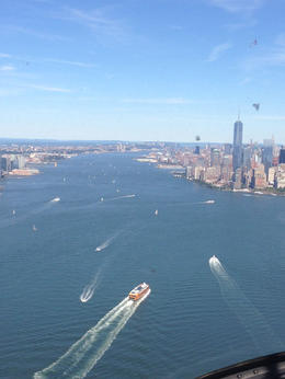Photo of New York City Manhattan Sky Tour: New York Helicopter Flight Perfect clear day