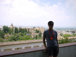Great view overlooking the palace, Laura All Over - August 2014