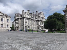 Visiting Trinity College during Dublin Historical Walking Tour , Mario S - October 2013