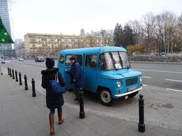 Photo of Warsaw Communist Warsaw Tour by Nysa 522 Car The tour bus