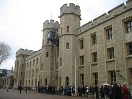 Where the Crown Jewels are housed. Expect about a half an hour long line. - March 2008