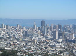 view of city from atop of Twin Peaks , Jo G - September 2012