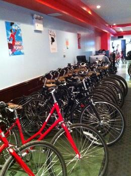 All of the bikes were in good condition., KellyD - November 2012