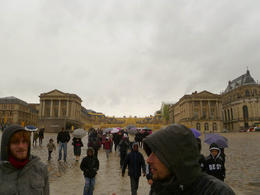 Photo of Paris Versailles by Bike Day Tour Approaching the Palace
