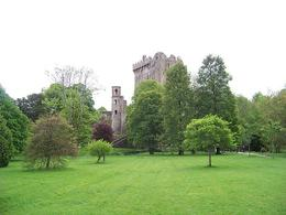 A view of Blarney Castle during our approach. , Susan G - May 2011