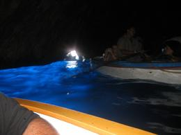 In the Blue Grotto at the Island of Capri, Brian S - September 2008