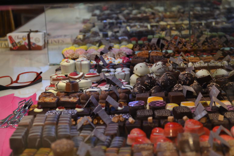 Chocolate Galore - Brussels