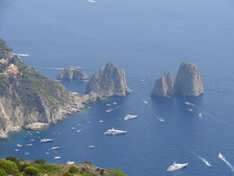 What a view from the top of Ana Capri. , Judy & Mike - September 2011