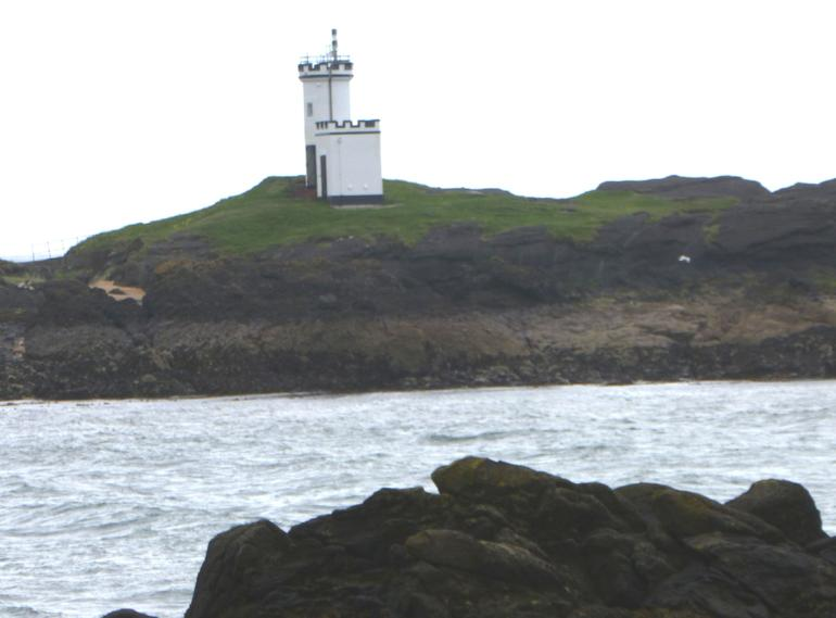 Fife, Elie Harbour, Lighthouse 2 - Edinburgh