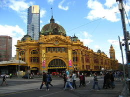 Photo of Melbourne Melbourne City Afternoon Tour Flinders Street Station