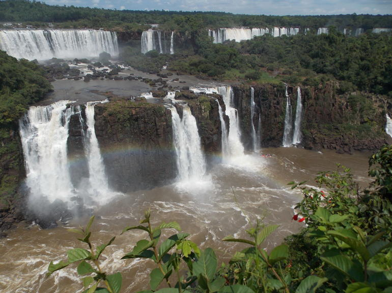 from Brazilian side - Foz do Iguacu