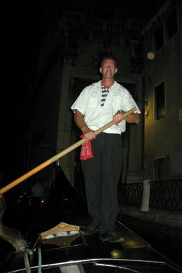 Photo of Venice Venice Gondola Ride and Serenade with Dinner Gondolier