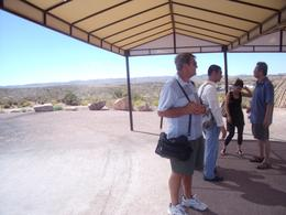 waiting for the shuttle , whjat a wonderful trip, it made our Usa holiday, Barbara christine F - October 2010