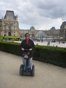 Photo of Paris Paris City Segway Tour Kris segwaying in front of the Louvre