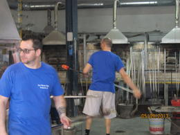 Photo of Venice Murano Glass and Burano Lace Tour from Venice Making of glass