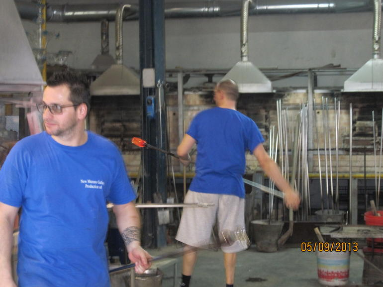 Making of glass - Venice