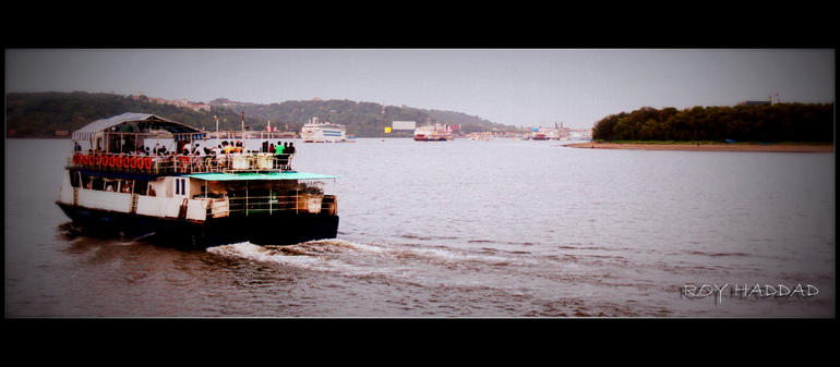mandovi river - Goa