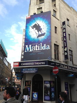 If you can only see one show in London during your trip, make it Matilda. , Maritoni T - May 2014