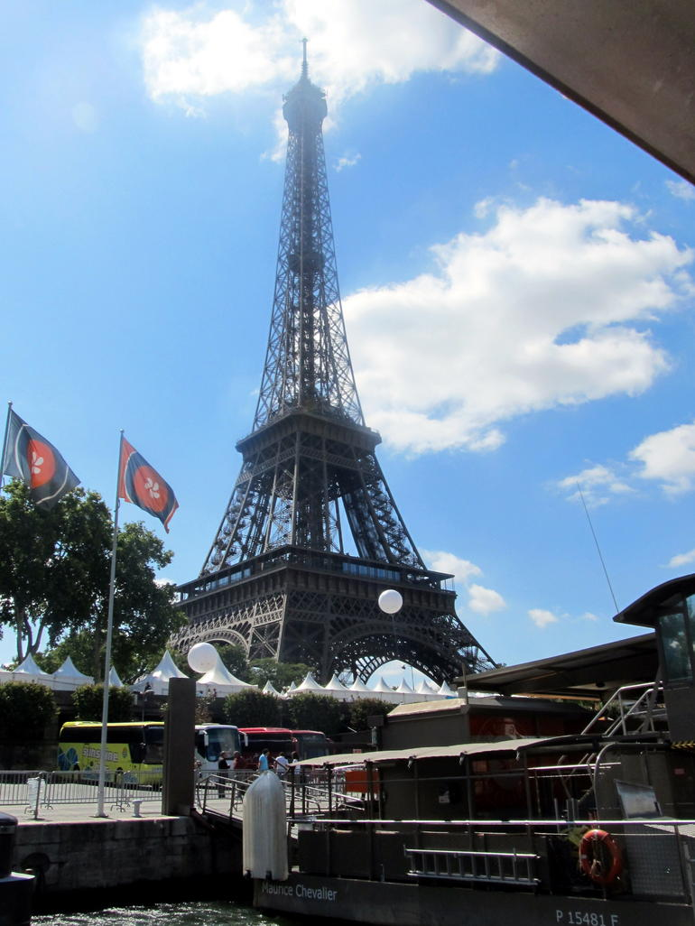 Paris - Eiffel Tower - London