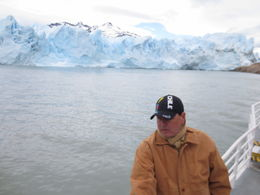 Boat trip from El Calafate to near the glacier's edge. Incredible experience! , George C - November 2015