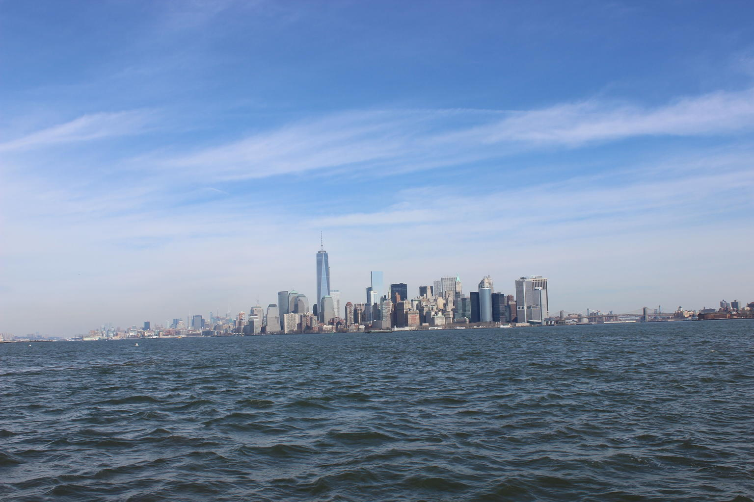 Southern Manhattan - from the water