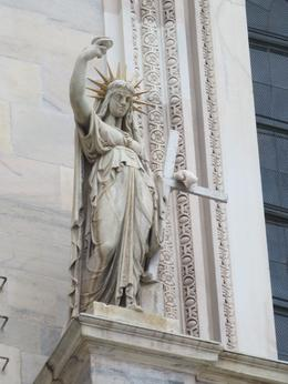 Model for the Statue of Liberty? , Roderick C M - September 2014